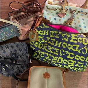 Dooney and Burke handbags